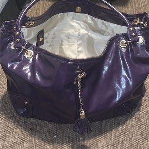 Larger purple purse